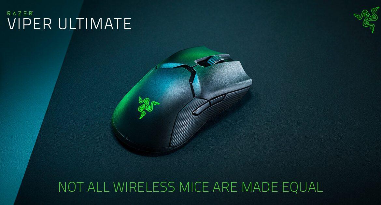 Razer presenta su nueva gama de ratones wireless, Razer Viper Ultimate